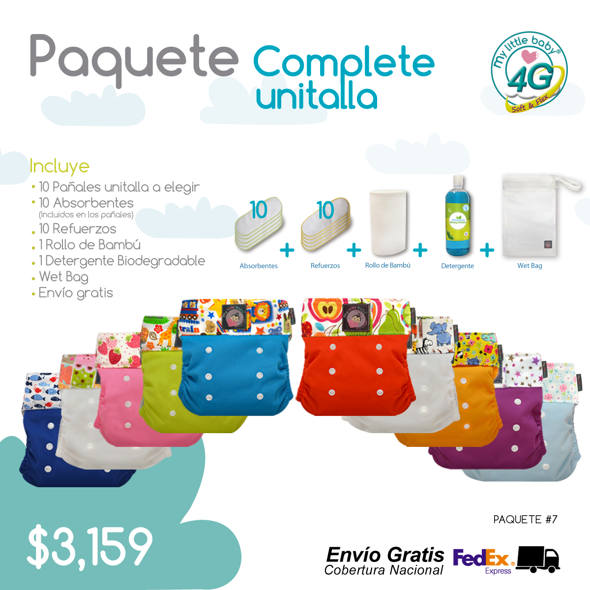 Paquete 4g 7